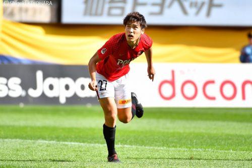 J1 20181007 Sendai vs Urawa Kiyohara8(s)