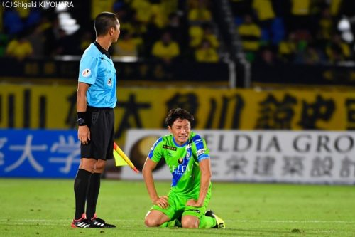 YBC Levain 貅匁アコ蜍・nd 20181014 Shonan vs Kashiwa Kiyohara27(s)