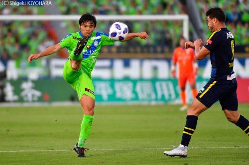 YBC Levain 貅匁アコ蜍・nd 20181014 Shonan vs Kashiwa Kiyohara4(s)