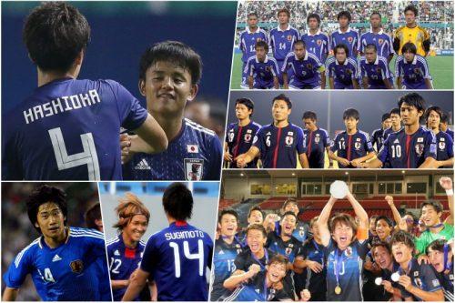 ●U-19日本代表が4大会連続で屈辱を味わった鬼門…過去5大会の成績と当時のメンバーは?