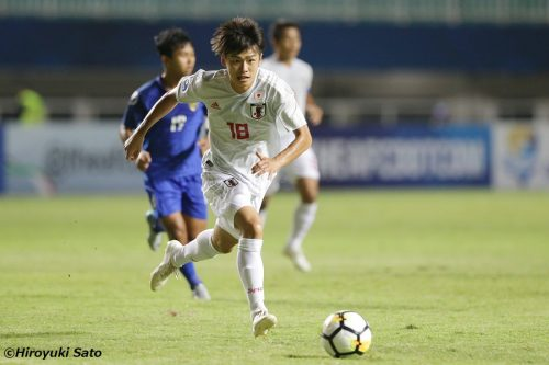 2戦連発!意欲溢れる最年少17歳の斉藤光毅「毎試合得点できるFWに」/AFC U-19選手権
