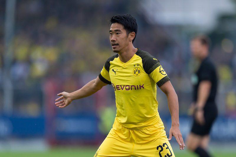 香川真司、全3得点アシストで勝利貢献…3部との強化試合にフル出場