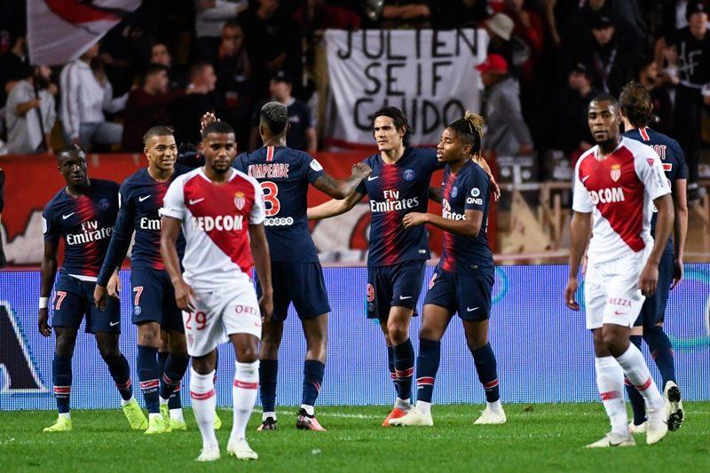 PSGがカバーニのハットで開幕13連勝…モナコは公式戦16試合未勝利に