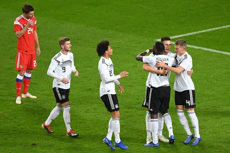 若手主体ドイツ、前半3得点でロシアに快勝…正念場オランダ戦へ弾み