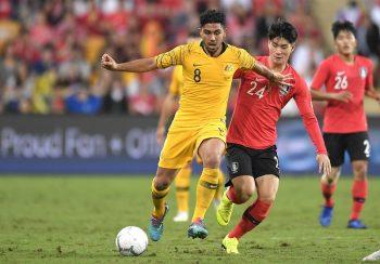 オーストラリア代表と韓国代表