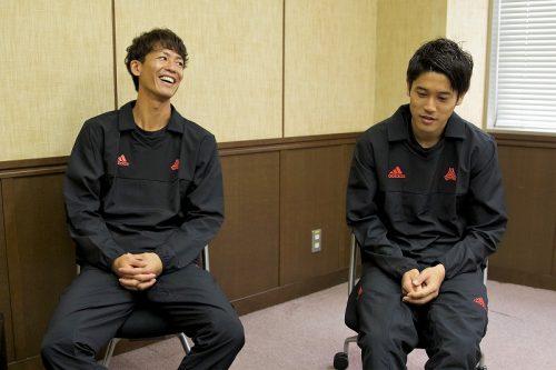 ●山本脩斗と内田篤人が「頼れる選手」は? サイドバックについて色々と聞いてみた!