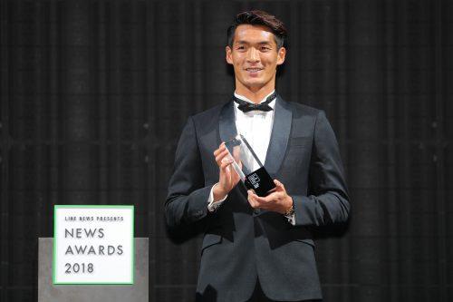 ●『NEWS AWARDS 2018』アスリート部門で槙野智章が受賞…「今年に懸ける思いは強かった」