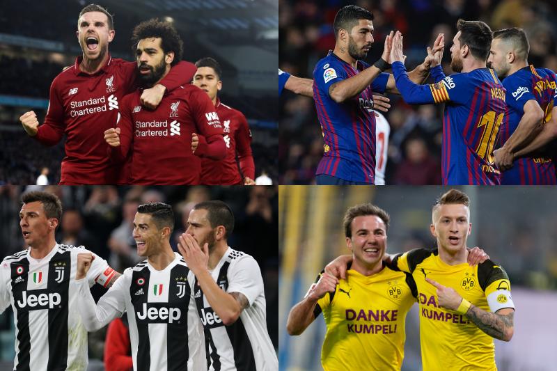 欧州4大リーグ前半戦終了…昨季から勝ち点を伸ばした/落としたクラブは?