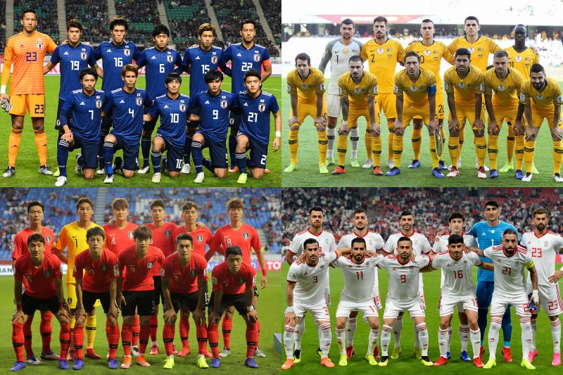 日本、オーストラリア、韓国、イラン