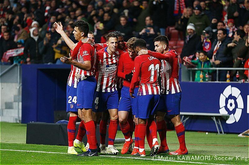 【写真ギャラリー】2019.1.16 スペイン国王杯ラウンド16 アトレティコ・マドリード 3-3 ジローナ