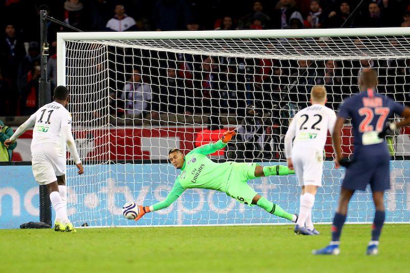 フランスリーグ杯で大波乱! 5連覇中のPSG、PK3回献上で準々決勝敗退