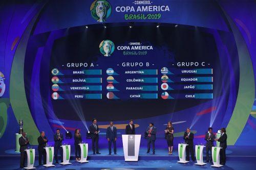 コパ・アメリカの組み合わせが決定! 日本はウルグアイ、チリ、エクアドルと同組に
