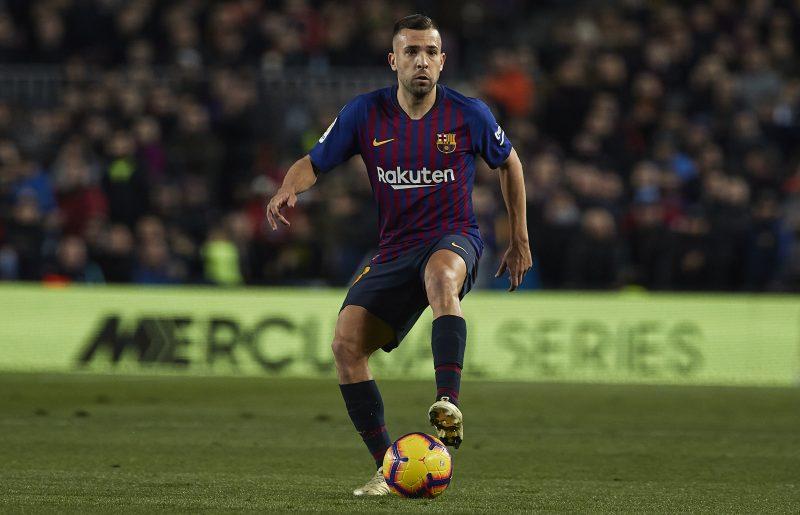 J・アルバ、バルセロナとの契約延長を望む「僕はここに残りたい」