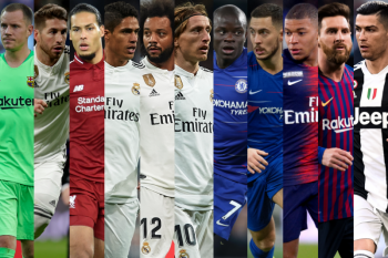uefa team of the year 2018