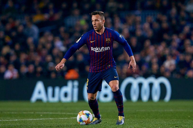 バルサに朗報、左足負傷のアルトゥールが練習に復帰…セビージャ戦出場へ