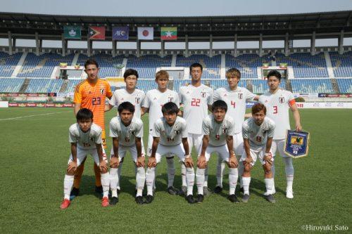 【写真ギャラリー】2019.3.24 AFC U-23選手権タイ2020予選グループステージ第2節 U-22東ティモール代表 0-6 U-22日本代表