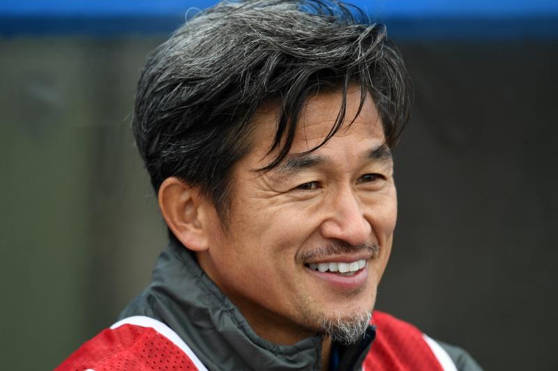 【サッカー】52歳三浦知良が最年長出場記録を更新へ…岐阜戦で今季初のスタメン入り
