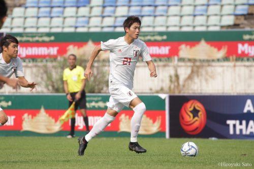 順風満帆ではなかった道のり…町田浩樹が手にした確かな自信/AFC U-23選手権予選