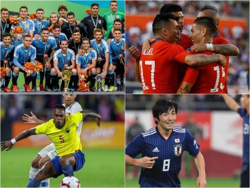 代表ウィークが終了…日本がコパ・アメリカで対戦するチームの成績は?