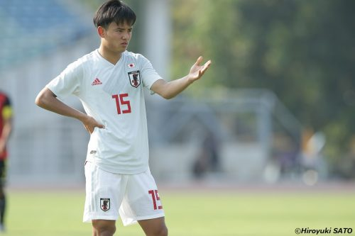 久保建英のスペシャリティとは? 課題認識と克服への努力にあり/AFC U-23選手権予選
