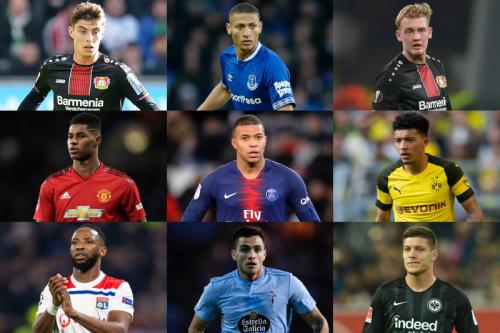 ●若手の台頭が目立つ今季、欧州5大リーグで最も得点に関与しているのは?