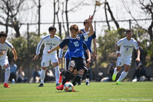 U-20日本代表、W杯前のテストマッチはドロー…安部裕葵がPKで得点
