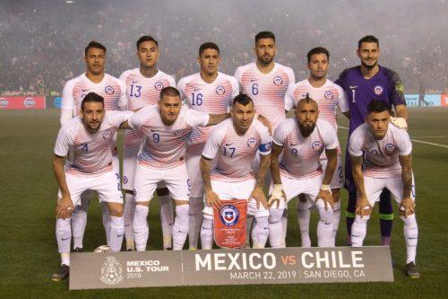 初戦で日本と対戦するチリ、コパ・アメリカに臨むメンバー23名を発表