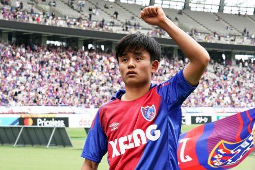 FC東京からは3人が代表入り…久保建英「今後のサッカー人生に活かしていきたい」