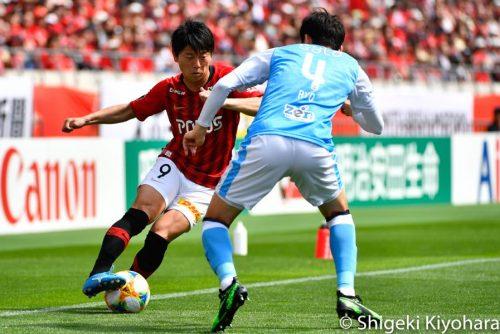 J1 20190503 Urawa vs Iwata Kiyohara3(s)