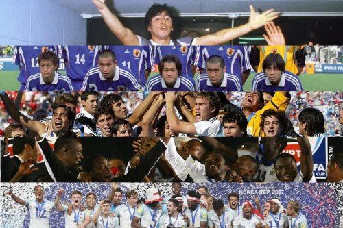 「マラドーナ降臨」「日本初の決勝」「アフリカ旋風」…U-20W杯をプレーバック