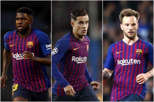 バルセロナが大改革に着手か…主力を含む10選手が放出候補に