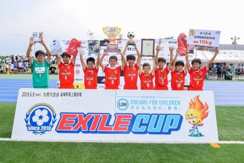EXILE CUP2019九州大会1…初出場のロアッソ熊本ジュニアが全国大会の切符をつかむ