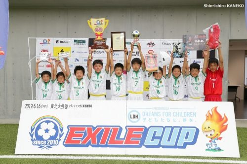 EXILE CUP 2019東北大会…一進一退の激戦制し、ESTRELLAS.FCが全国の舞台へ