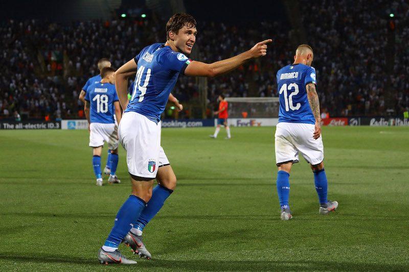 キエーザが2発!…開催国イタリア、逆転勝利でスペインとの優勝候補対決を制す