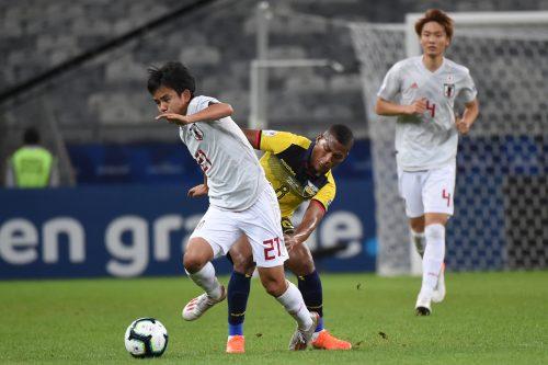 日本、2分1敗でGS敗退が決定…中島のゴールで先制もエクアドルとドロー