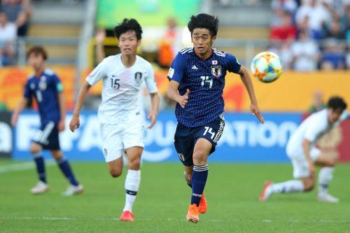 U-20日本、日韓戦に敗れ8大会ぶりの準々決勝進出ならず…終盤に痛恨の失点