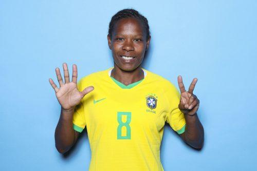 ブラジル女子代表MFフォルミガ、W杯史上初の7大会出場…澤穂希を抜き単独最多