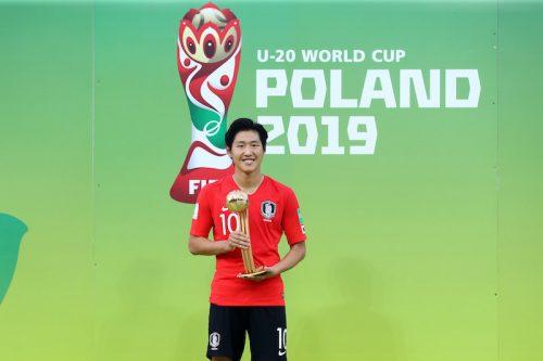 韓国エースのイ・カンインがU20W杯MVP!…得点王は1試合9発のノルウェーFW