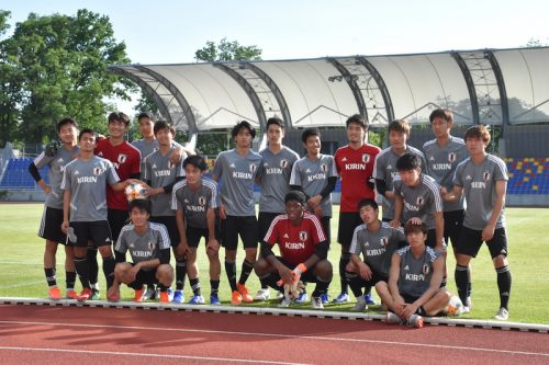 U20日本、勝負の日韓戦に向けて始動…鈴木冬一「通過点として勝ちたい」