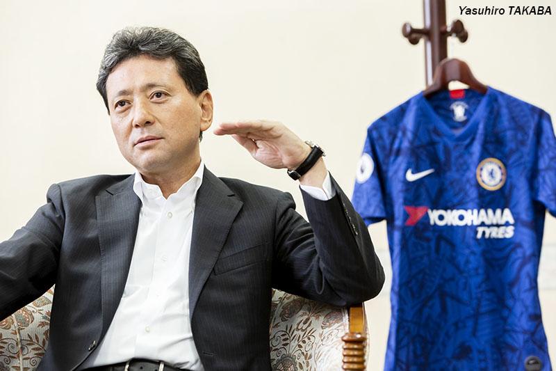 横浜ゴム山石社長