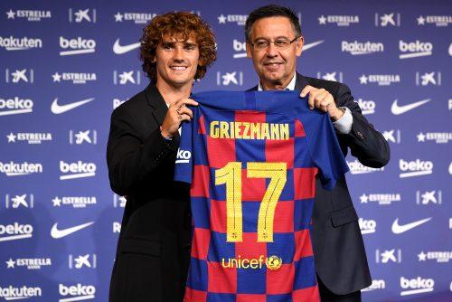 グリーズマン、バルサでの背番号が決定…今季は「17」を着用