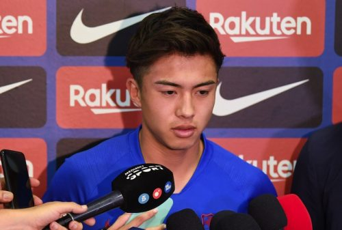 バルセロナ安部裕葵、『Rakuten Cup』参加のため凱旋決定…クラブが発表