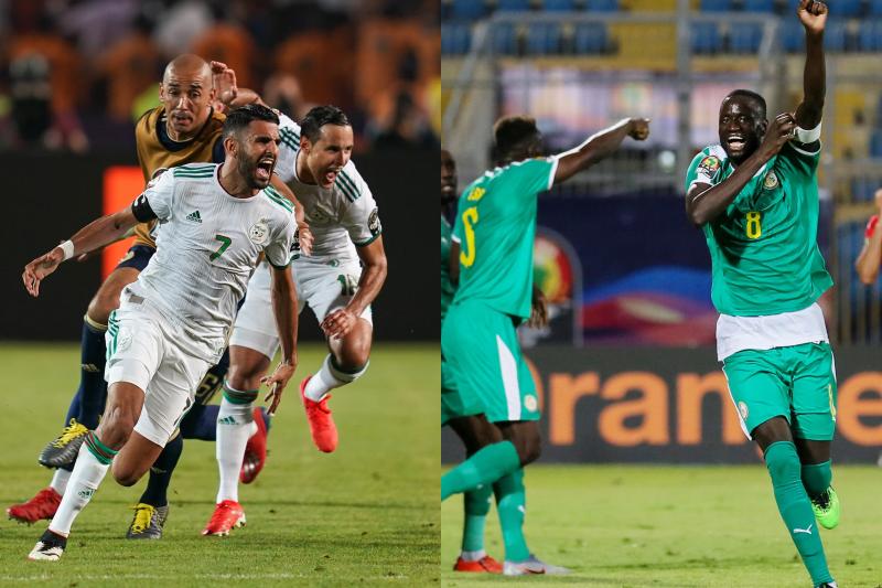 アルジェリア、セネガル
