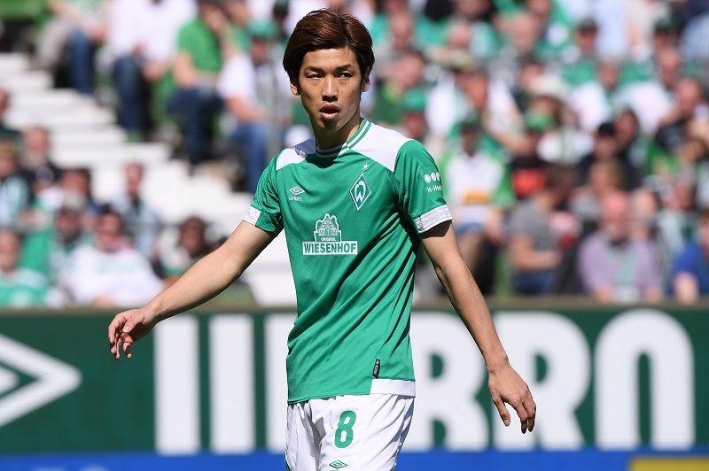 大迫勇也が1G1Aの活躍! ブレーメン、5部クラブに6発快勝で初戦突破