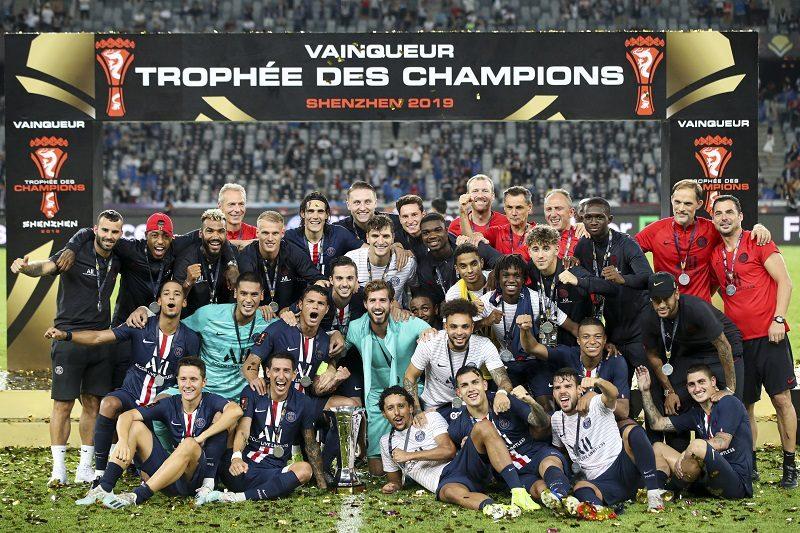 PSGがフランススーパー杯制覇! ムバッペ&ディ・マリア弾でレンヌに逆転勝利