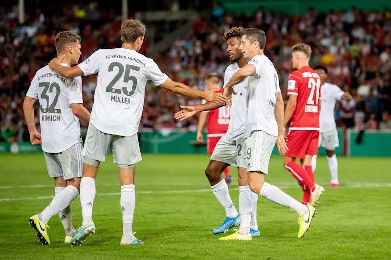 連覇狙うバイエルン、4部クラブに3発勝利でDFB杯2回戦に進出