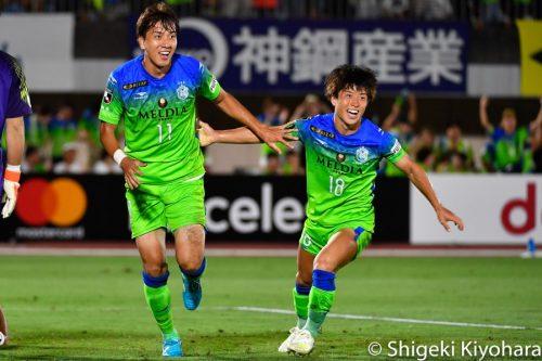 J1 20190803 Shonan vs Kashima10(s)