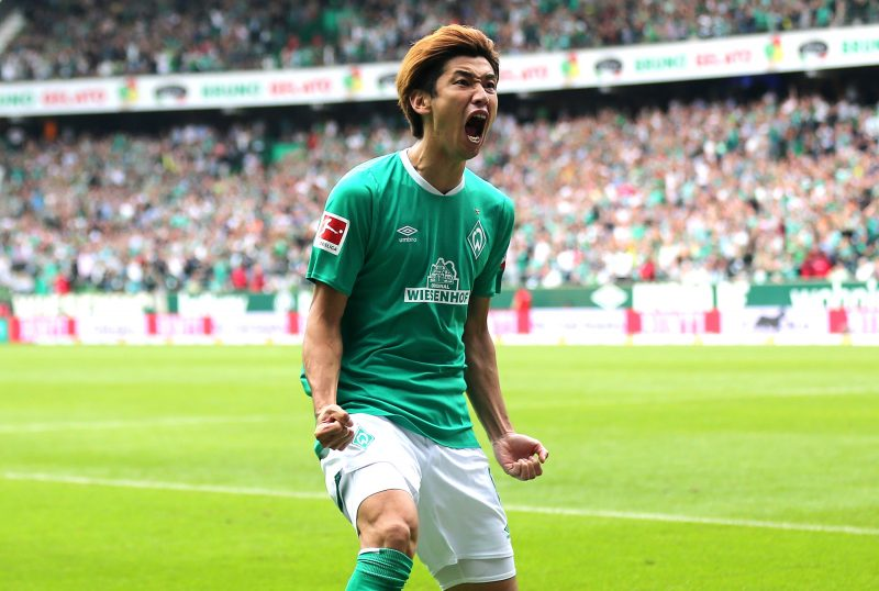 大迫勇也がリーグ公式のベスト11に選出!…2得点の大活躍で今季初勝利に貢献!