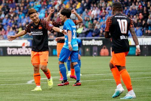 堂安律が移籍後初ゴール! PSVは大量4発で2連勝…開幕からの無敗もキープ