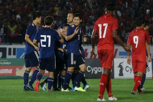 日本がミャンマーに快勝! カタールW杯へ好発進…久保はアジア予選最年少出場記録を更新